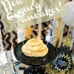 New Year's Eggnog Pancakes!