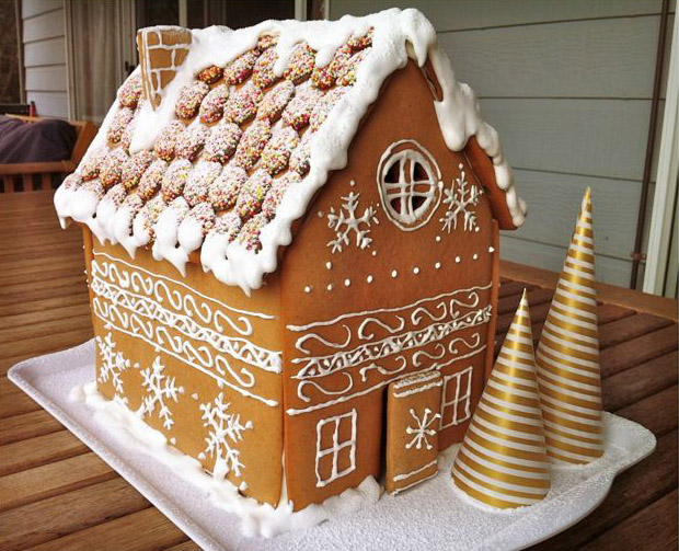 Lovely Gingerbread Houses B Lovely Events
