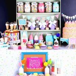 Amazing Sprinkle Party Decor-Isn't it the cutest!