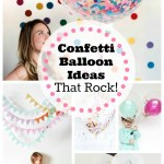 Confetti Balloon Ideas That Rock- B. Lovely Events
