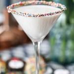 Sprinkle Rim Birthday martinis!