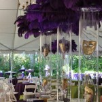 Inspiration Of The Day- Mardi Gras Centerpieces!