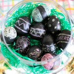 DIY Chalkboard Easter Eggs & Party! {Blog Hop With Evite}