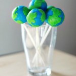 Earth Day Cake Pops-See More Earth Day Party Ideas At B. Lovely Events