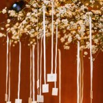 Blossoming tree escort card display- B. Lovely Events