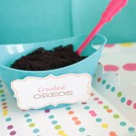 Polka Dotted Ice Cream Party Toppings- Love This For Summer! - See more ice cream party ideas on B. Lovely Events