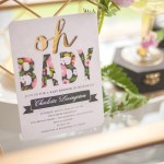 Gorgeous Floral Baby shower Invite