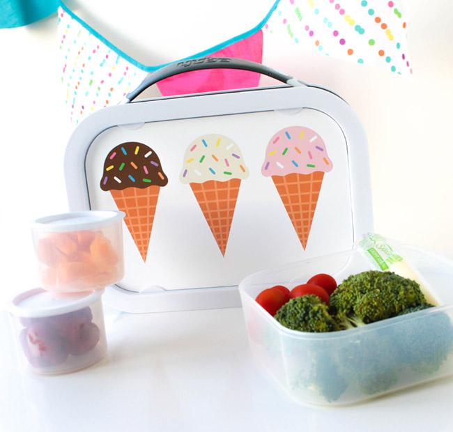 Adorable Ice Cream School Supplies!