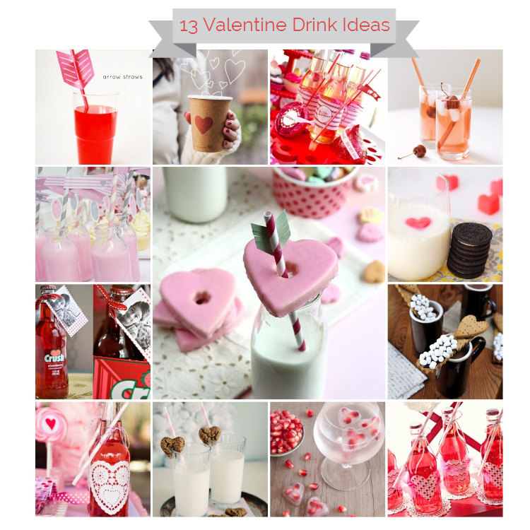 13 Lovely Valentine Drink Ideas