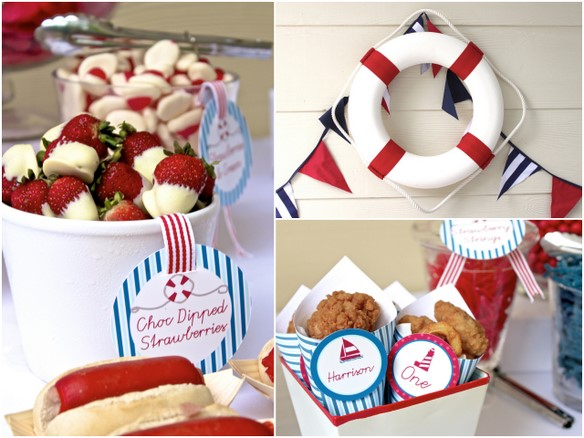 nautical party food ideas