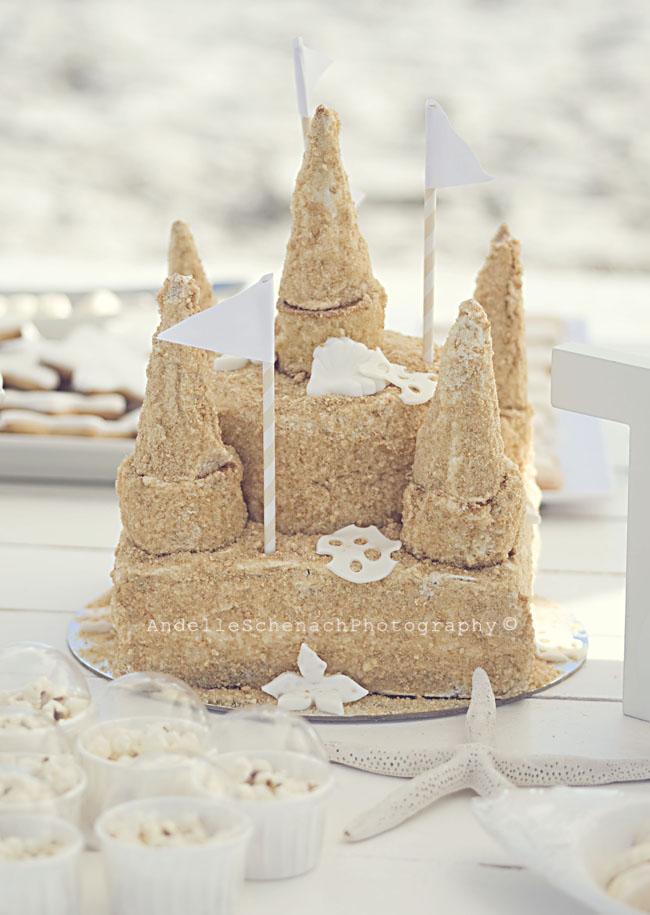 sand castle cake!