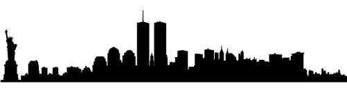 New York City vinyl wall decal for a new york city themed party!