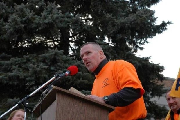 Michael Powers, new president of state corrections officers union - new york state correction officer