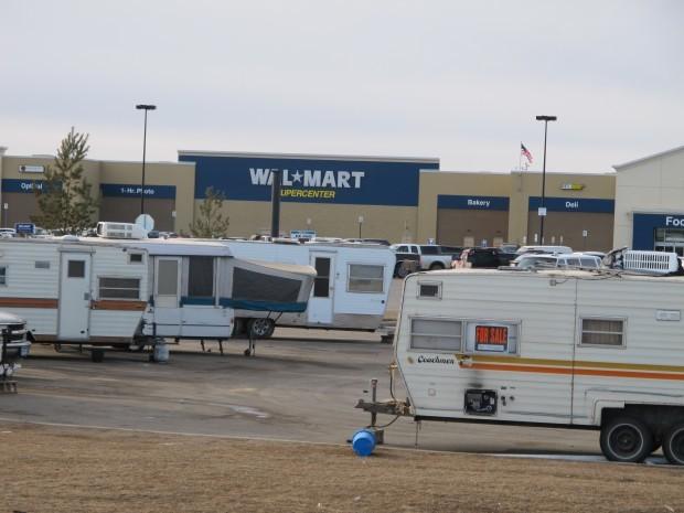 Williston Walmart becomes a mecca for oil job seekers North Dakota