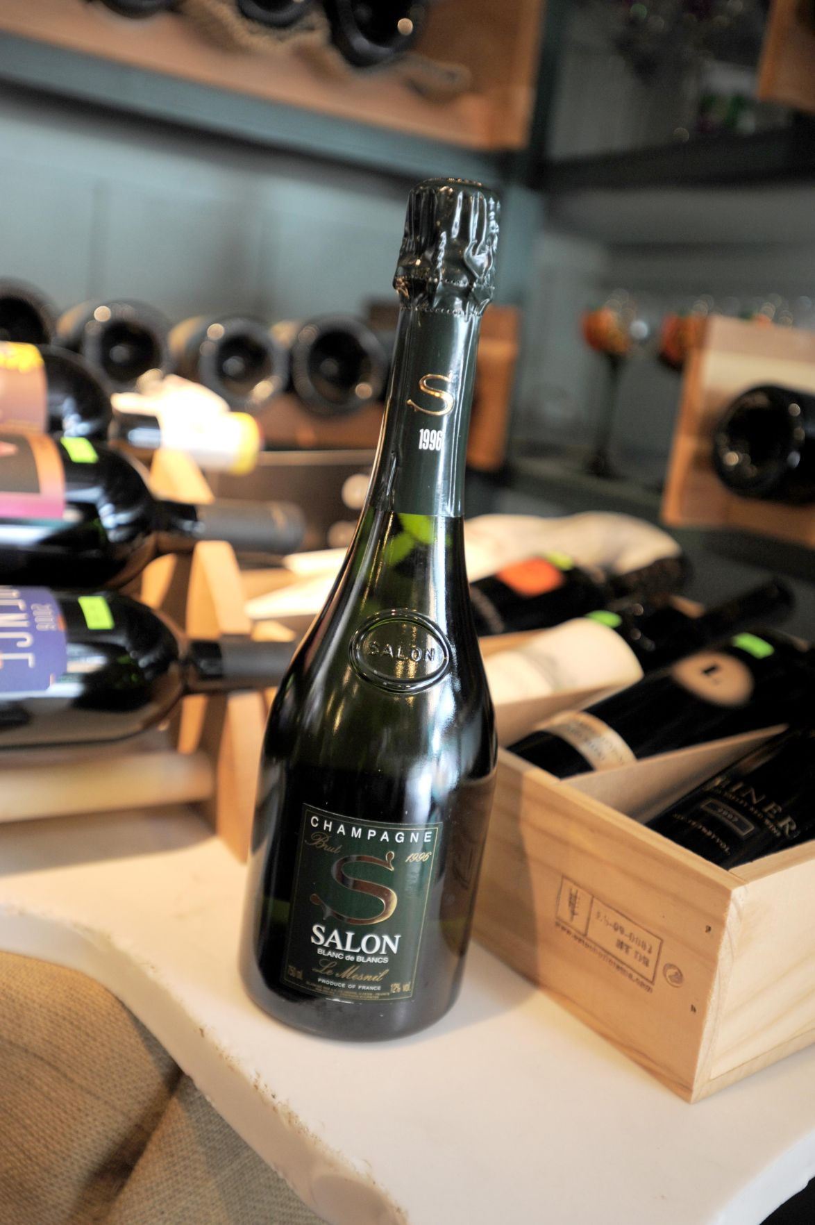 Salon Champagne Justifying Popping Cork On 500 Champagne New Milford Couple Has