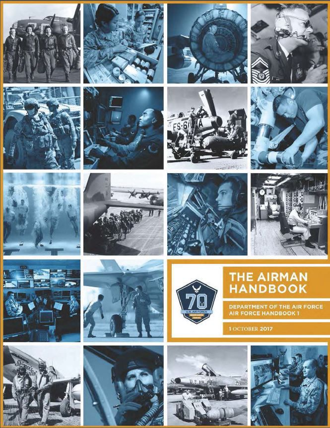 AF officials release 2017 Air Force Handbook 1, Airman and enlisted