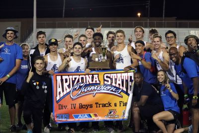 Valley Christian boys repeat as track & field champs | Sports | eastvalleytribune.com