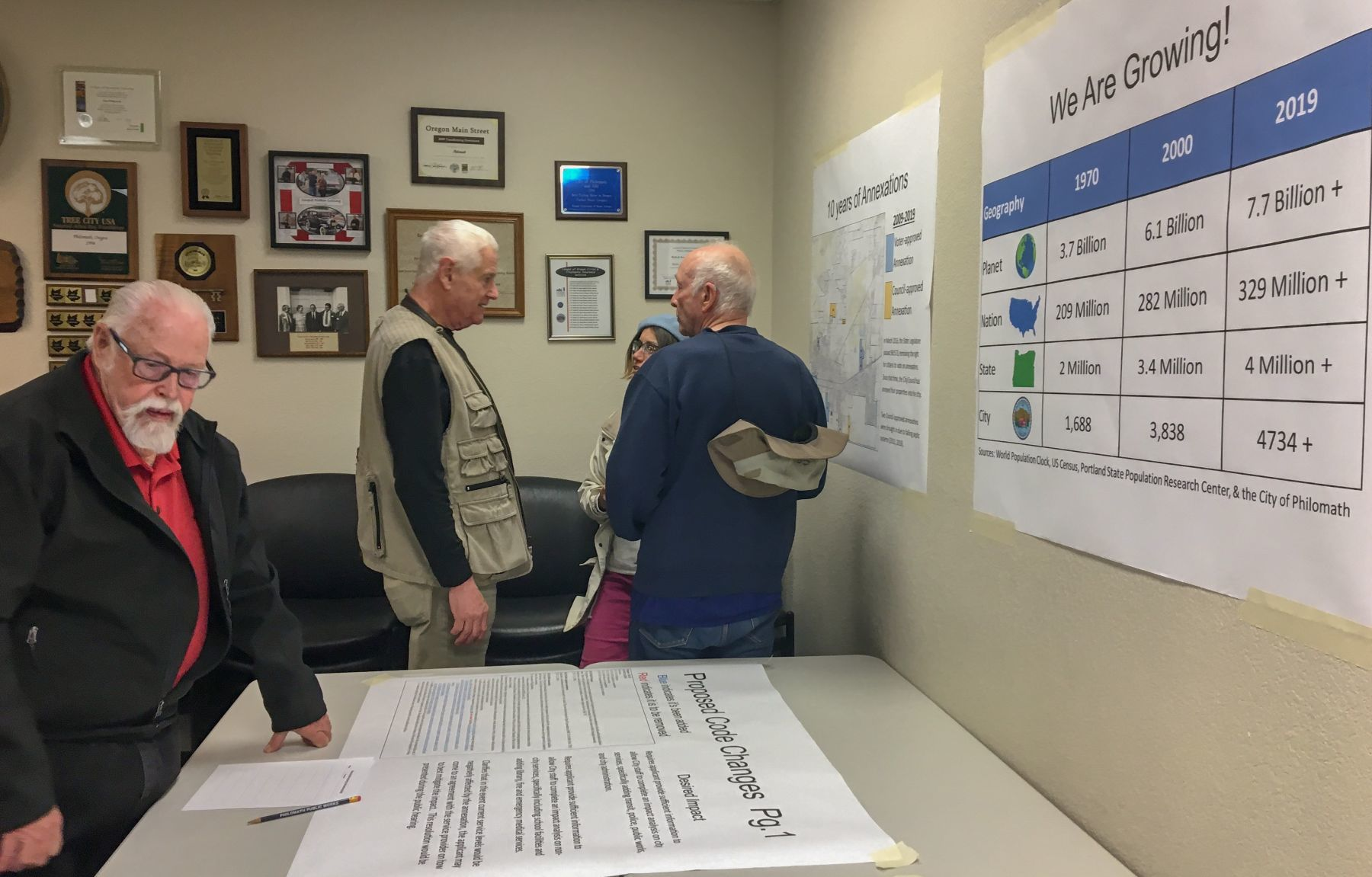 Sedia Bar Sport Citizens Weigh In On Annexation Criteria Changes At Open House