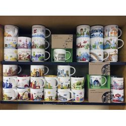 Pretty Mug Collection Collection Grows As Travels Continue Outdoors Coffee Mug Collectors Board Coffee Mug Collection Shelf furniture Coffee Mug Collection