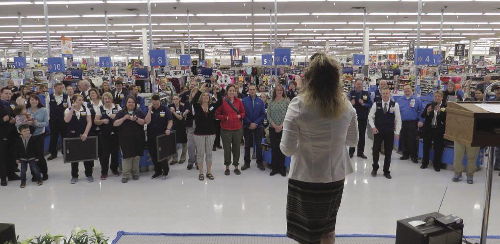 Walmart hosts grand re-opening Local News heraldandnews