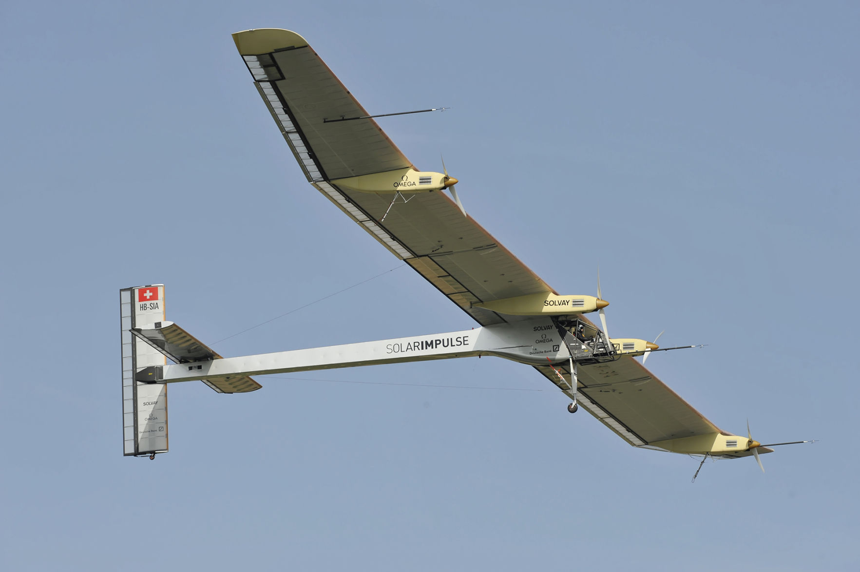 Ruoff Solar Solar Powered Plane Attempts To Fly Around The World Without