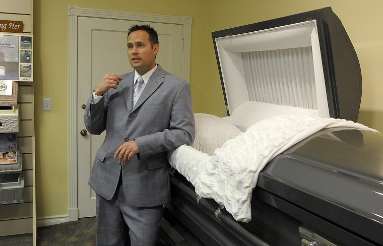 Dust to dust Many would balk at embalming a body, but morticians