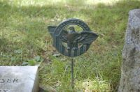 Thieves take military flag holders from graves at Beaver ...