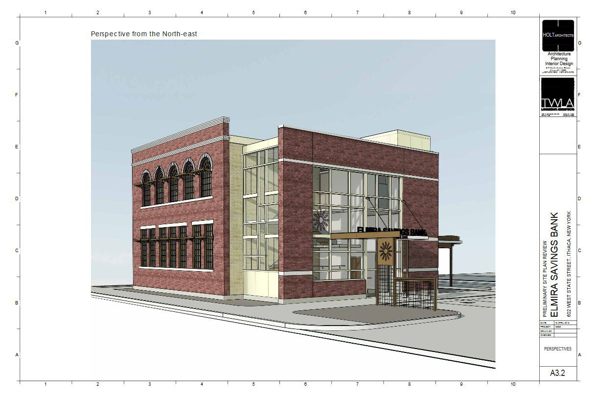 Elmira Savings Bank starts work on new West End branch | Ithaca | ithaca.com