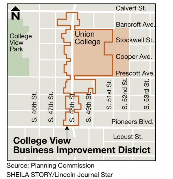 Planners OK business improvement district for College View Local