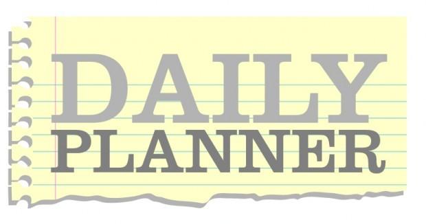 Daily Planner Tuesday Sheldon exhibit, family swim, troubadour