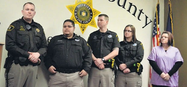 5 jail staffers honored for saving man\u0027s life Local News