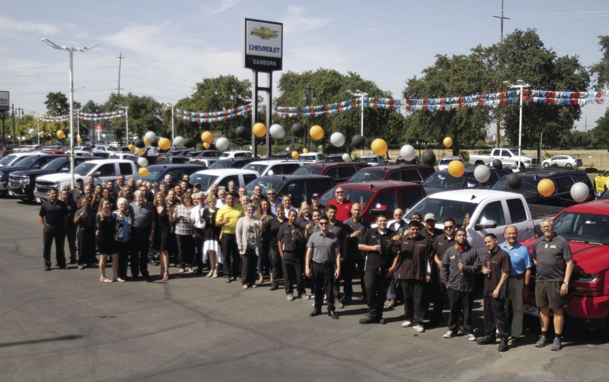 Lodis Sanborn Chevrolet Overcomes Hardships To Flourish