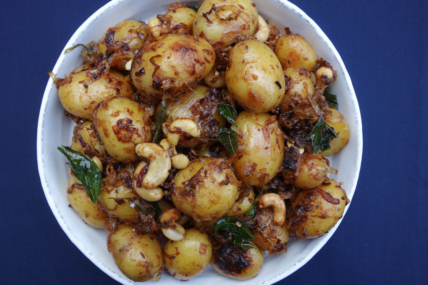 Cuisines Knob Potato Salad With A South Indian Twist Madison Recipes