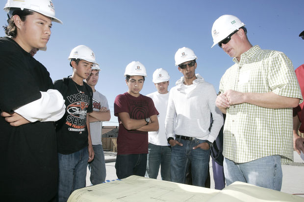 Student job shadowing shines light on construction Local News - high school job shadowing
