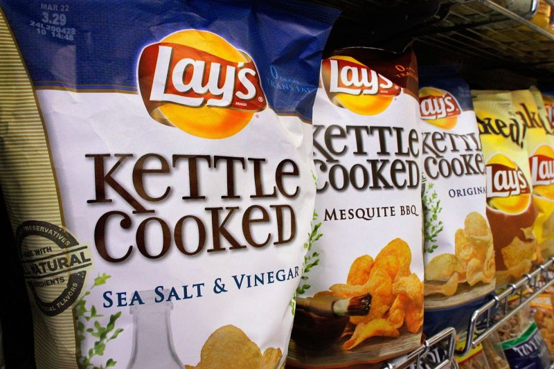 Large Of Kettle Cooked Chips