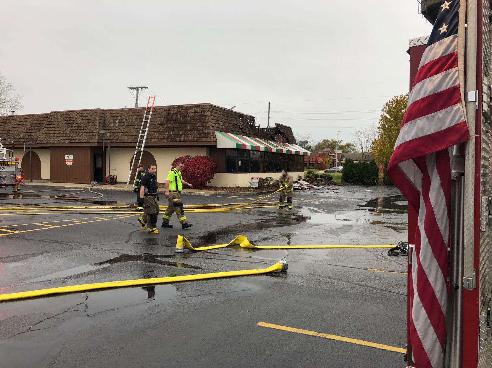 Pizza Restaurant Fire Damages Munster Aurelio S Pizza Lake County News Nwitimes