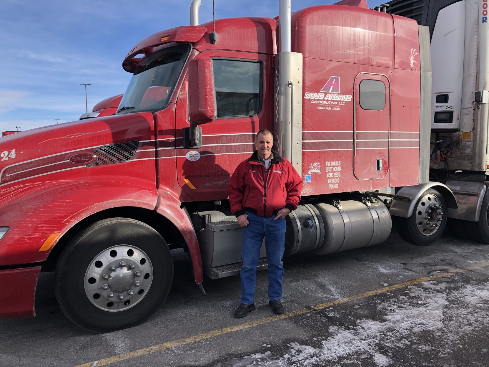 Career Trucking Idaho Falls Truck Driver Reaches 5 Million Miles In Career