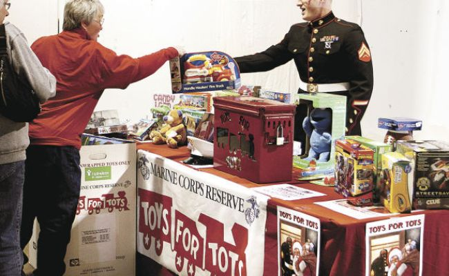 Ask The Times Toys For Tots Covers 50 Miles From Q C