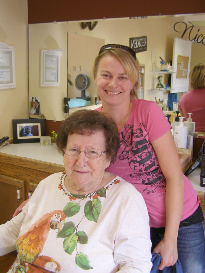 Salon Senior Senior Stylist Salon Caters To Sapphire Lutheran Homes