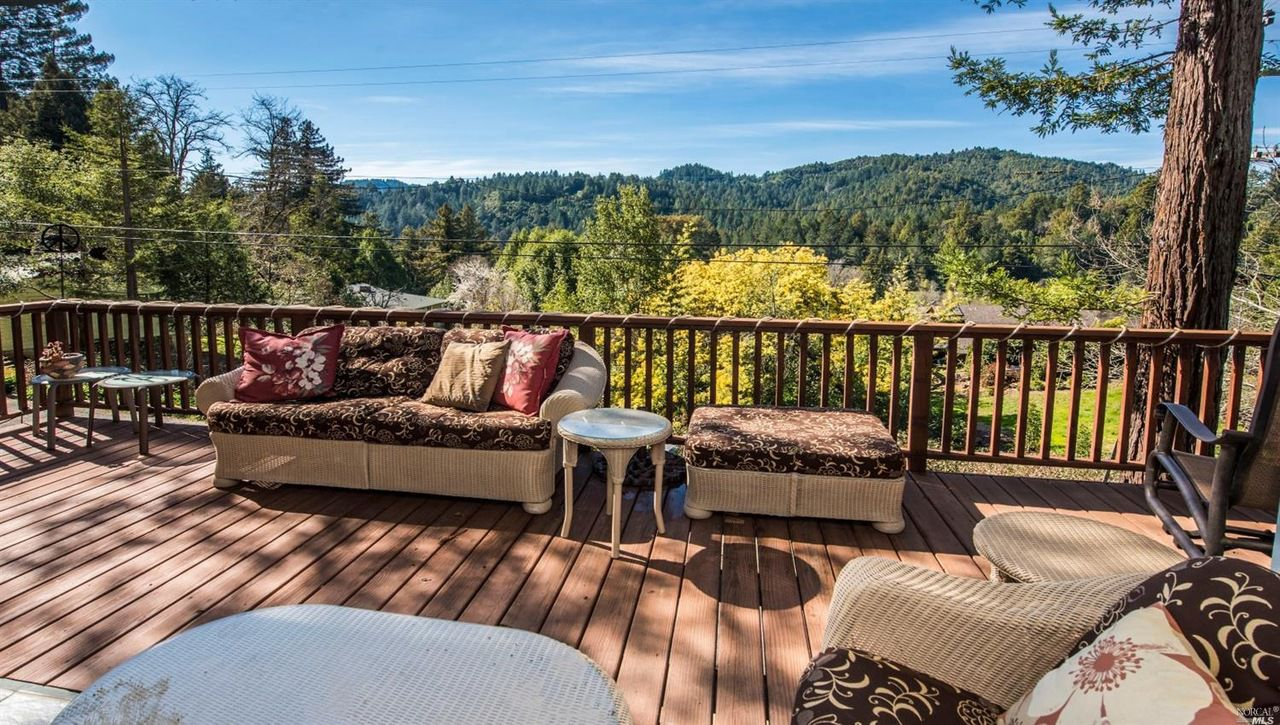 Sofa Parade Santa Rosa This 1940s Guerneville Home Features Stunning West County Views