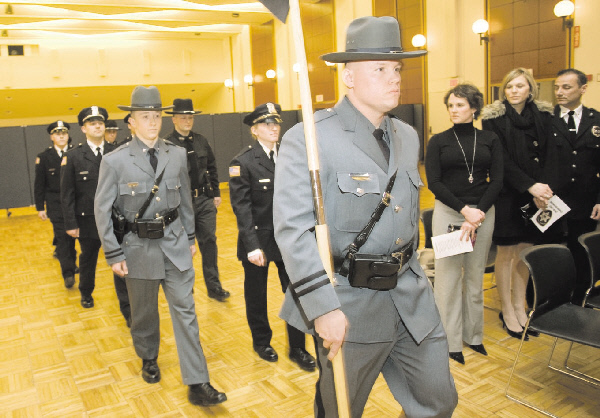 Law enforcement academy graduates nine Local News thedailystar - Nys University Police
