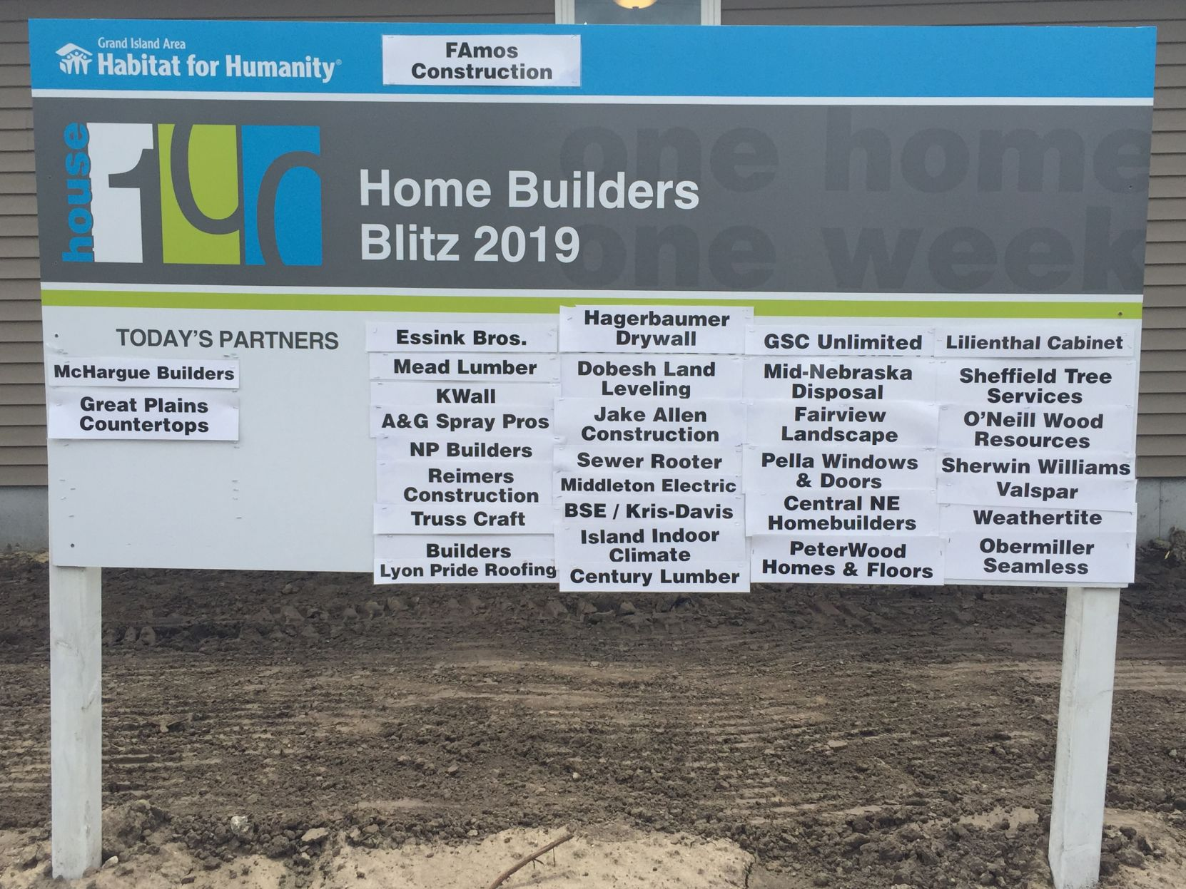 Grand Habitat Lyon Habitat For Humanity Welcomes Its 100th Home Local News