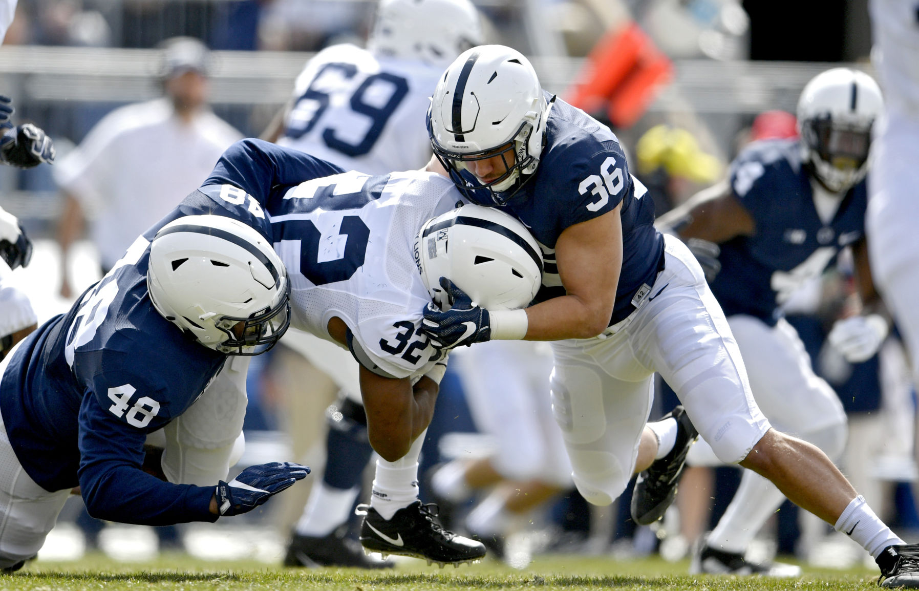Penn State Football Penn State Football Former Walk On Johnson In The Hunt At