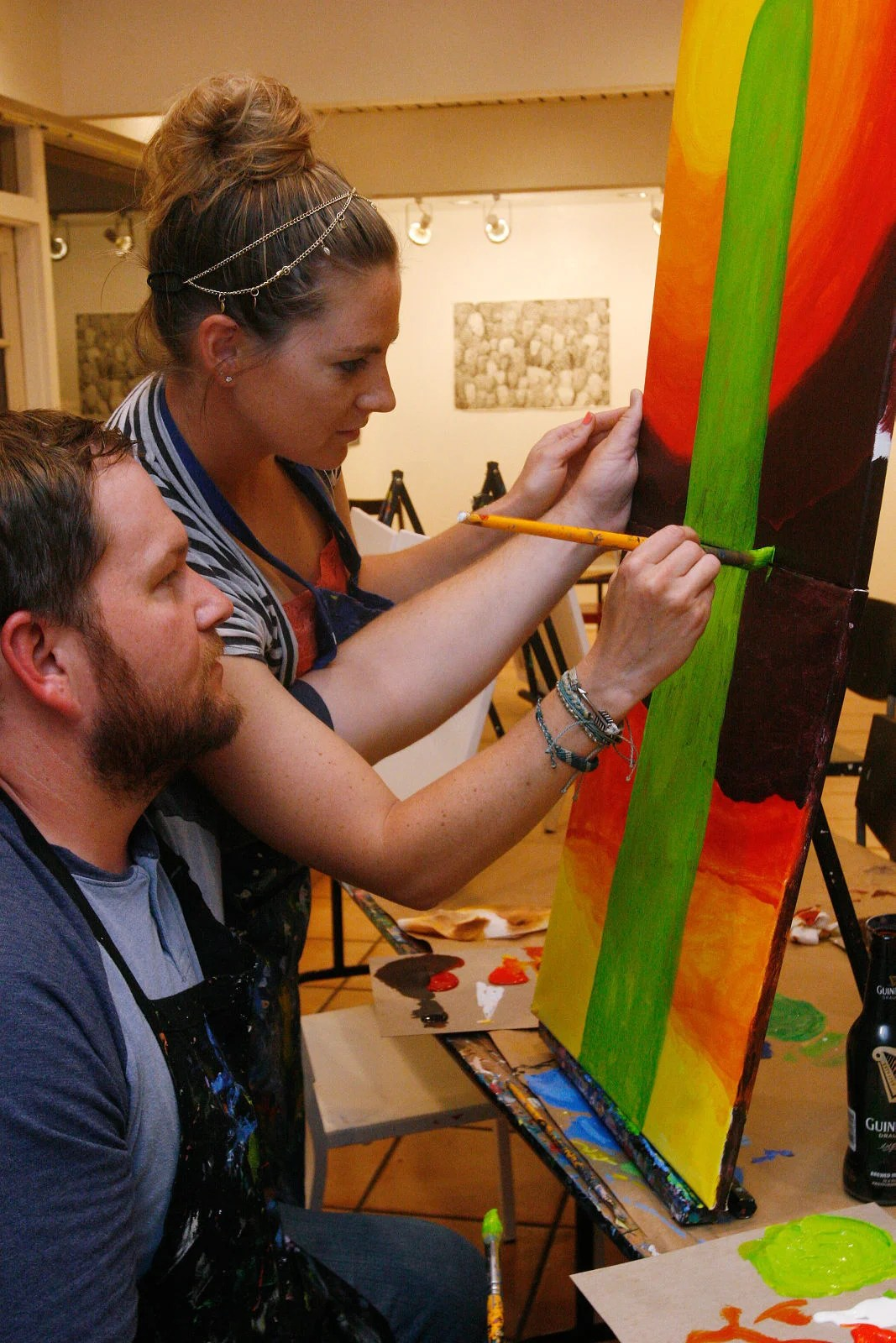 Arte Bella Tucson Az Paint And Sip The Night Away Tucson