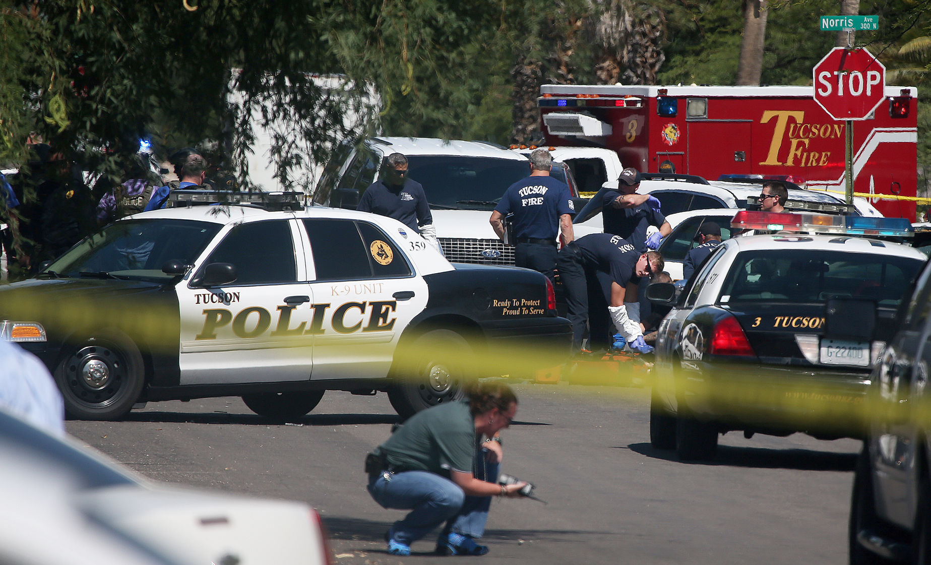 Handson Kweekkas Serre Police Tucson Bank Robber Dead After Chase Shootout Crime