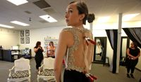 Prom dresses: Finding style that meets dress code ...