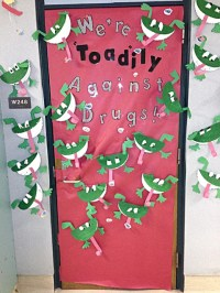 Wahpeton's Central Elementary hold door decorating contest ...