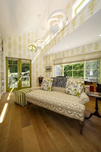 Master Bedroom Light Fixtures Peek Inside: Actress Linda Hunt's Bungalow Blends Whimsy