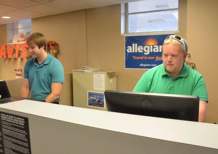 Allegiant Air flights start today at regional airport Local