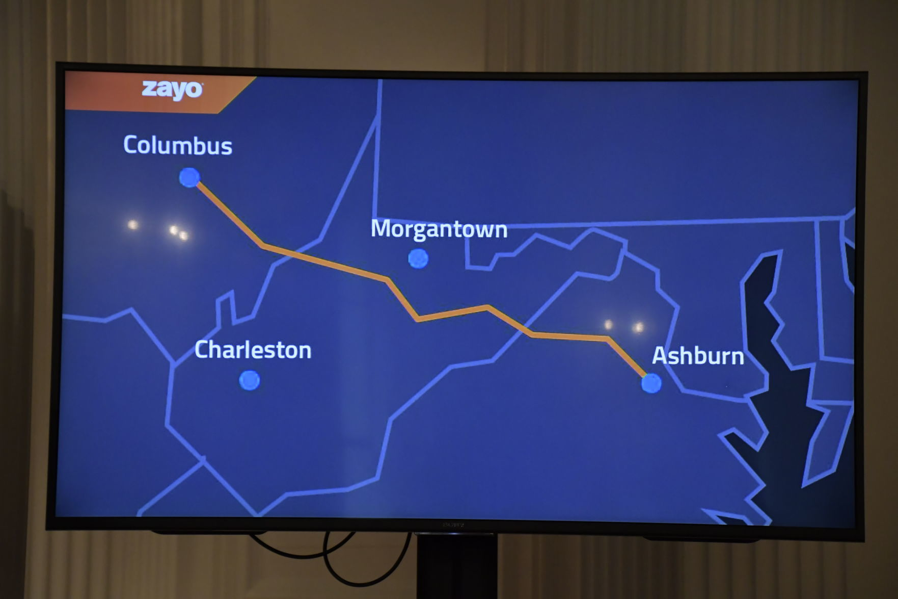 Va Columbus Ohio Fiber Optic Network Could Be A Game Changer For W Va Officials